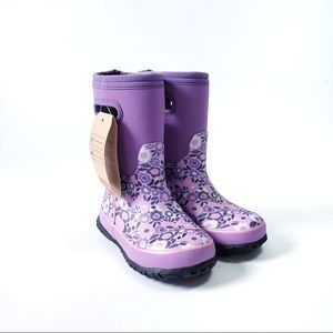 Bogs Grasp Ditsy Floral Waterproof Girl's Boots 11